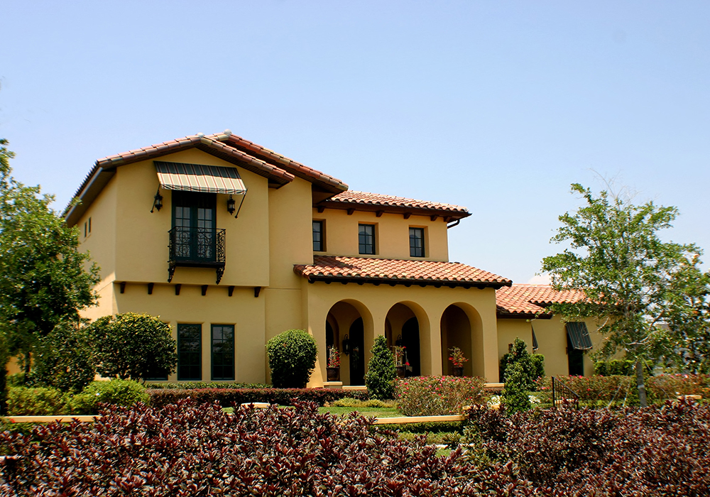 architecture: themes of spanish-mediterranean style homes - frank